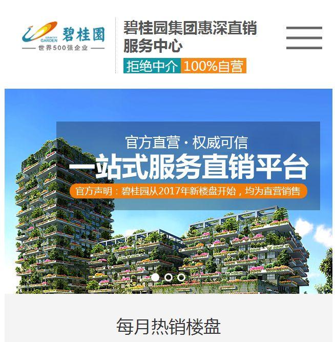 碧桂园模板网站