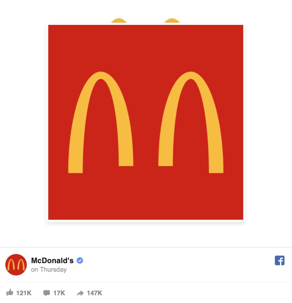 疫情,麦当劳logo